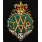 Territorial Army Volunteer Reserves Blazer Badge, Wire