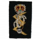 REME Officers Collar Badge