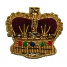 Crowns Gold 7/8""