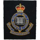 Royal Gloucestershire Hussars Blazer Badge, Silk