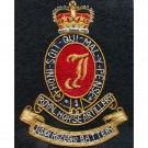 Royal Horse Artillery Blazer Badge, J (Sidi Resegh)