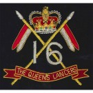 16th5th Royal Lancers E11R Blazer Badge