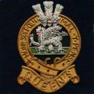 The Queen's Regiment Wire Blazer Badge