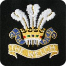 Welch Regiment Blazer Badge, Silk