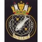 Royal Navy Blazer Badge, Patrol Service, Wire