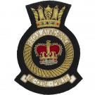 Royal Navy Blazer Badge, Regulating Branch, Wire
