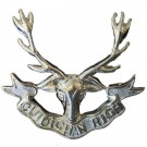 Seaforth Highlanders Cap Badge, Nickel