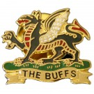 The Buffs Lapel Badge