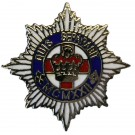 4th/7th Dragoons Lapel Badge