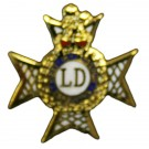 The Light Dragoons Lapel Badge