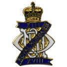 13th/18th Hussars Lapel Badge