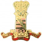 11th Hussars Lapel Badge