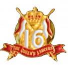 16th/5th Lancers Lapel Badge
