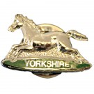 POW Yorkshire Lapel Badge