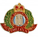 The Suffolk Regiment Lapel Badge