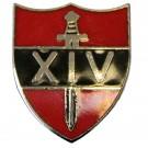 14th Army Lapel Badge