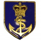 RN C & A Shield Lapel Badge