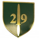 29 CDO RA Lapel Badge