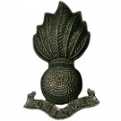 RA Officer's Collar Badge-Bronze