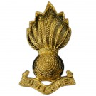 RA Officer's Collar Badges-Gilt