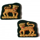 Gordons Green Collar Badge