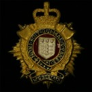 RLC Officer's Collar Badges