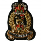 AGC Female Collar Badge
