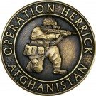OP-HERRICK Afghanistan Bronze Relieved Blazer Button (24L)