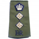 Rank Slides, Olive Green, (Col), E11R