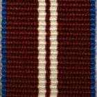 Miniature Queens Diamond Jubilee Medal Ribbon - E.C.Snaith
