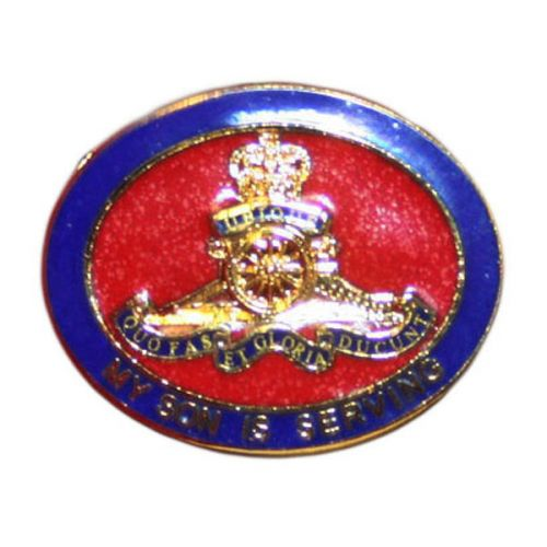 Royal Artillery Son Sweetheart Brooch