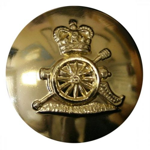 Royal Artillery Button, Anodised (30L)