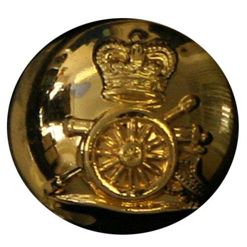 Royal Horse Artillery Button, Ball, Gilt (22L)