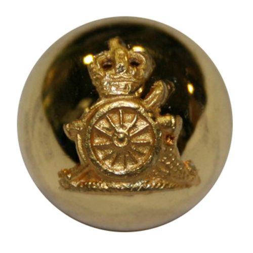 Royal Horse Artillery Button, Mounted, Ball (22L)