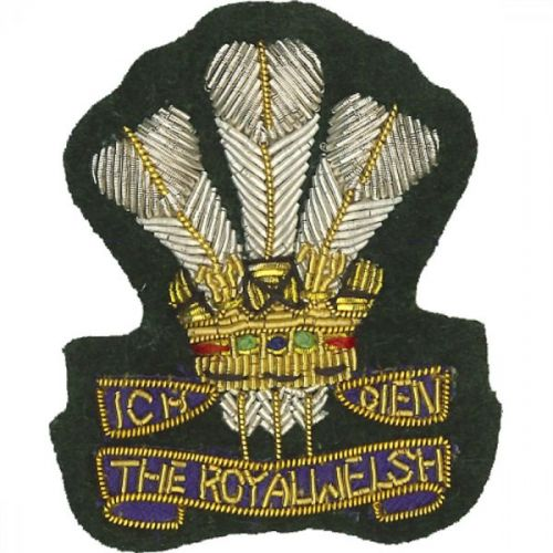 Royal Welsh Beret Badge, Officers