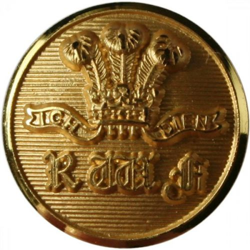 Royal Welch Fusiliers Button, Blazer, Gilt (24L-15mm)