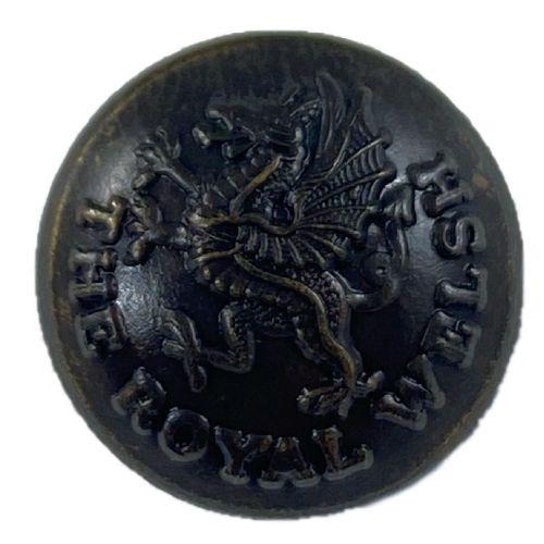 Royal Welsh Bronze Button (22l)