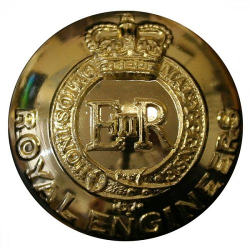 Royal Engineers Button, Anodised (22L)