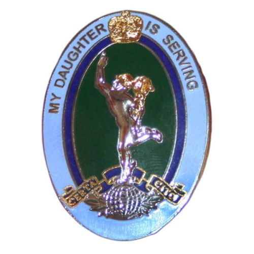 Royal Corps of Signals Daughter Sweetheart Brooch