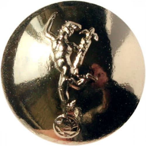 Royal Signals Button, Anodised (30L)