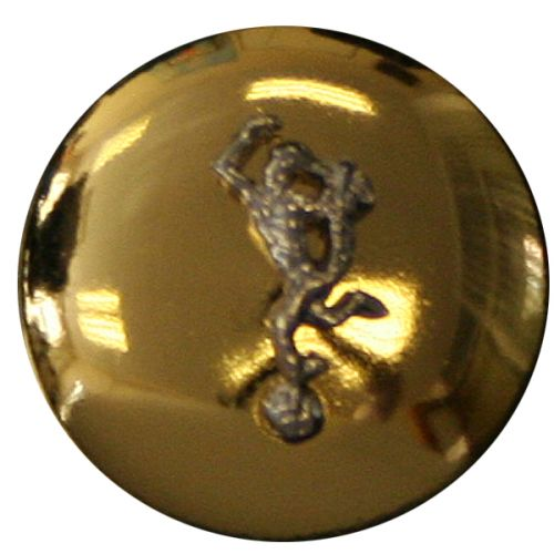 Royal Signals Button, Mounted, Domed (24L)