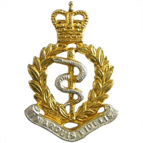 Royal Army Medical Corps Cap Badge, Officers