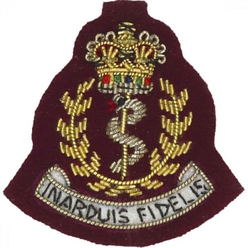 Royal Army Medical Corps Beret Badge, Officers, PARA
