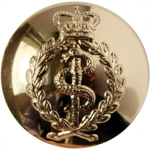 Royal Army Medical Corps Button, Anodised (40L)