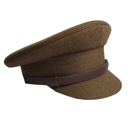 Khaki Service Dress Cap