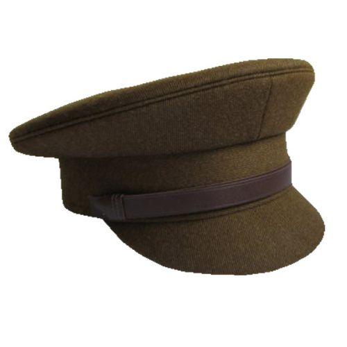 Khaki Whipcord Cap