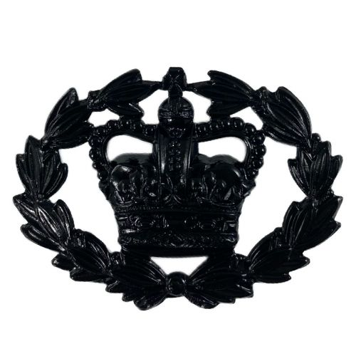 RQMS Crown in Wreath Black Wrist Rank Badge