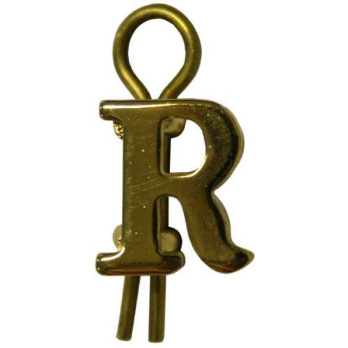 Gilt Letters R