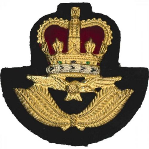 Royal Air Force Cap Badge, Officer, Metal