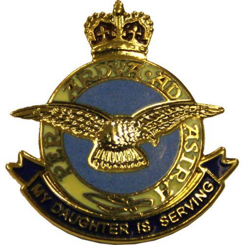 RAF Daughter Sweetheart Brooch